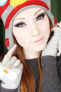 Santa Baby Holiday Eyes - MadeULook by Lex with full YouTube Video Tutorial! :)