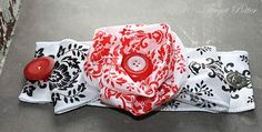 Baby Sock #Corsage #diy #idea (Romantic Wristlet Ribbon Corsage)