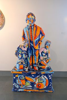 Sculpture by Viola Frey