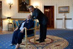 President Obama and Toni Morrison