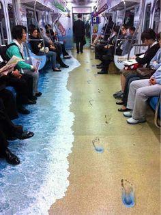 Cosas raras que te podrias encontrar en el metro | Noti.in - Lo más interesante de la Red