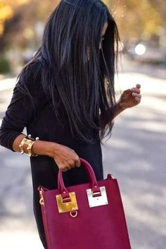 Long Dark Hairstyle