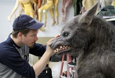 """Werewolf prop from """"The Howling: Reborn"""""""