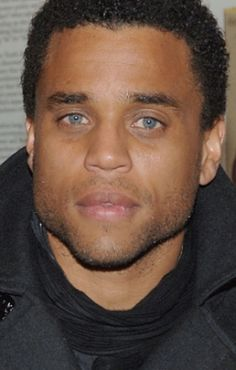 "Michael Ealy. ""He's got that dark with light eyes thing that makes women lose their shit.""  Great quote pic of Rah"