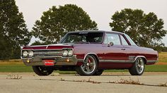 1965 Olds Cutlass 442 by 1GrandPooBah, via Flickr
