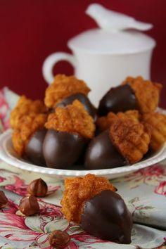 Mini madeleines noisette, citron et chocolat | Mme Carrée | Canal Vie