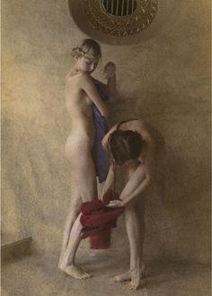 Lidia & Olesya by David Hamilton.