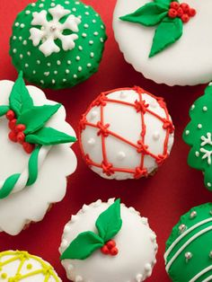 Chocolate Peppermint Cupcakes #17holiday