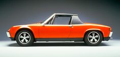 1969 Porsche 914/8 once owned by Ferdinand Porsche...wish I could find one now