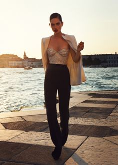 Merle Bergers by Leo Krumbacher for Grazia Germany #36 September 2011