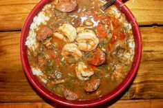 Smokey Creole Gumbo with Hot Sauce