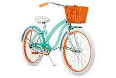 Limited Edition Bike w/ Basket, Dillon on OneKingsLane.com