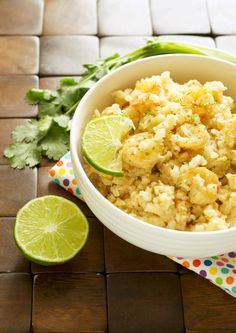 Crockpot Chili Lime Shrimp and Rice Bowls - Crockpot Gourmet