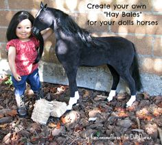 Easy Hay Bales for Doll Sized Horses