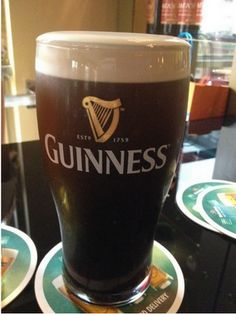 First order of business in Ireland!!!! We're finally here!!!! - dave
