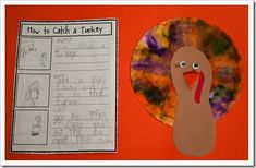 how to catch a turkey ~ could also do how to cook a turkey. :)
