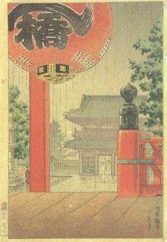 Asakusa Kannon - Tsuchiya Koitsu