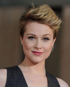 My new obsession- Evan Rachel Wood's short, sexy hair!