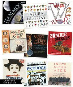 Great Non-Fiction Books for Kids. Books, I've found, are some of the best tools for learning about the world and people around us. This selection of Non-Fiction for Kids offers a variety of well written books that my kids and I love!