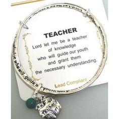 Teacher Prayer Bangle #teachersday