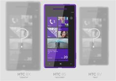 HTC Window Phones 8 device to be called 8X, 8S, 8V