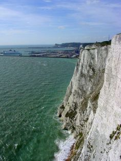White Cliffs of Dover, England - Click image to find more Travel & Places Pinterest pins