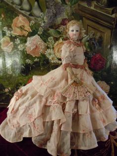 Great france fashion doll--francois gaultier 1895 from lovelyoldthings on Ruby Lane