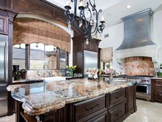 kitchen cabinet colors, dark window, counter color, nice window, kitchen, island