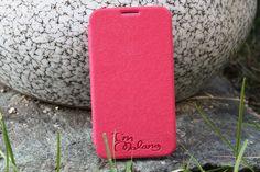 New Genuine Leather card Folilo case for SAMSUNG Galaxy note2 N7100 chrome pink   eBay