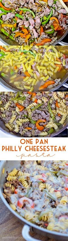 One Pan Philly Chees