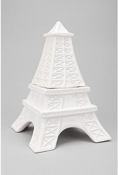 I'm a bit of a Francophile so I love this Eiffel Tower Cookie Jar from UrbanOutfitters.com for $34