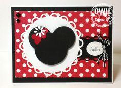 cute minnie card