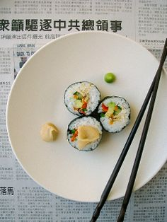 vegetarian sushi recipe and tips