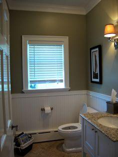 Nantucket gray in bath