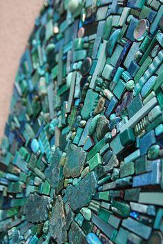 I love Sonia King's mosaics!