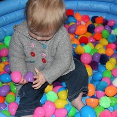 Sensory Fun: Who Knew Plastic Easter Eggs Were So Much Fun WITHOUT the Candy?!