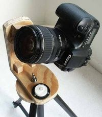 How to build a panoramic tri-pod mount. Get it! #photography #diy #camera