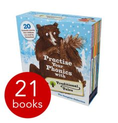 Part of the Oxford Reading Tree Scheme, this big, beautiful, boxed collection contains 20 fantastic stories - steadily progressing in difficulty level - that children will be able to enjoy reading by themselves.