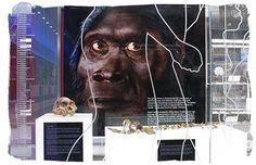 Die maropeng-besoekersentrum in die wieg van die mensdom, gauteng