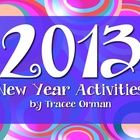 FREE 2013 Creative Writing Activities for the New Year - A twist on the past New Year's Resolutions activity.These writing activities can be used...