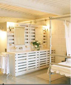 interior, crate idea, diy bathroom, bathroom vanities, pallet furnitur