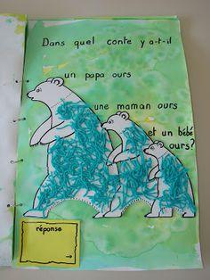le livre des devinettes de la classe de mademoiselle violette, avec tous les contes de petite section