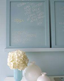 DIY:: Custom Chalkboard Paint Colors !
