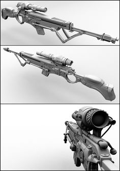 Sniper Rifle by ~beere