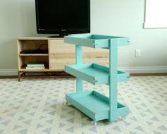 Smaller Rolling Cart for Home Depot DIH Workshop