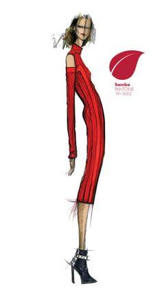 Rachel Roy - PANTONE Color Samba - Pantone Fashion Color Report, Fall 2013