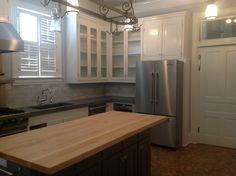 Gray & White Kitchen :: P. Allen Smith (city house) kitchen remodel.