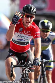 Giro d`Italia - stage 13 - Tim De Waele - Cycling: 96th Tour of Italy 2013 / Stage 13 Arrival / CAVENDISH Mark (Gbr) red