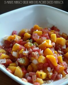 2-Minute Mango Salsa