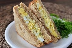My Favorite Lightened Up Egg Salad Sandwich {Are you a lover or hater?}